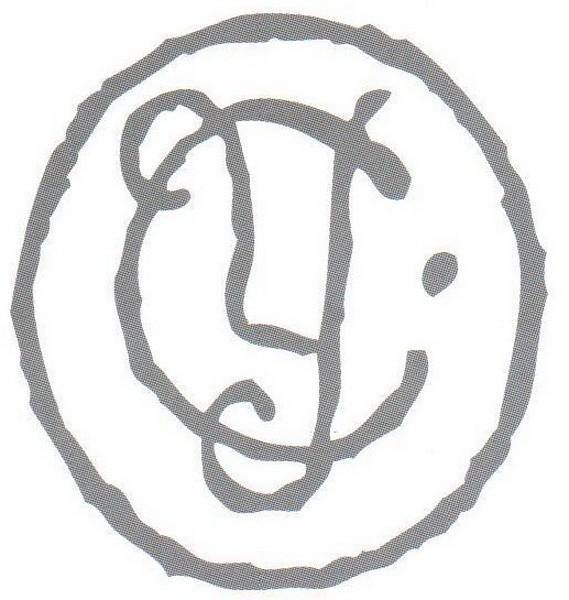 С 1881 г. ставилась втиснутая в глину марка с буквами С и У в кружке. С 1900 г. к этой марке стали добавлять одну точку или звездочку справа или две по обеим сторонам.