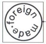 кон. 1920-х гг. — нач. 1930-х гг. Экспортная  подглазурная марка