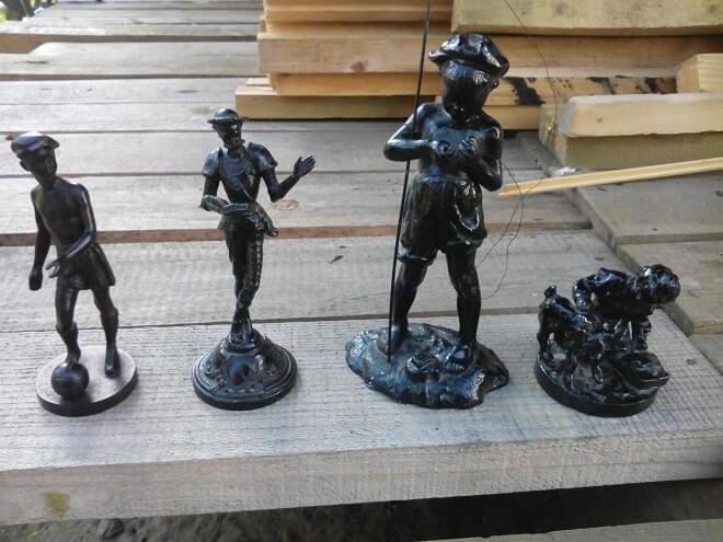Каслинские чугунные статуэтки