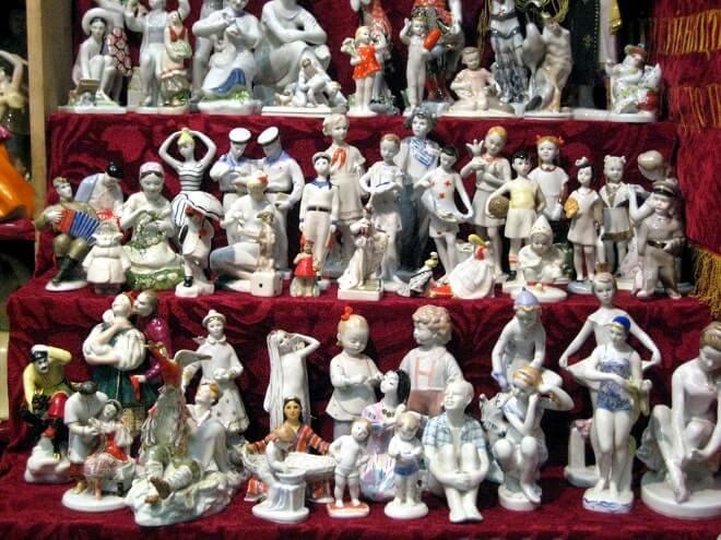 Продажа советских статуэток