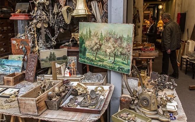 Стоимость антикварных картин