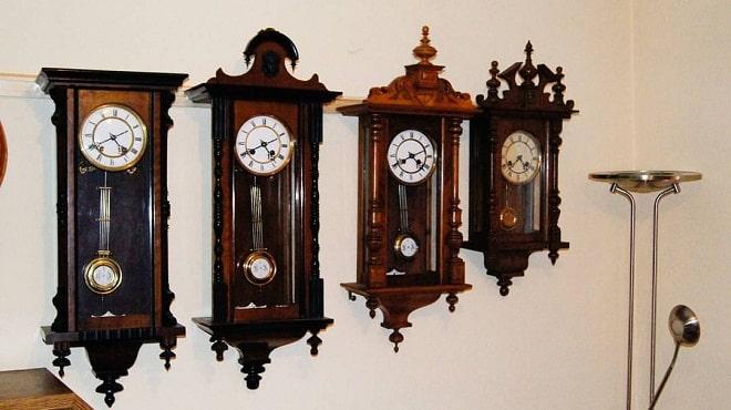 Разновидности антикварных часов